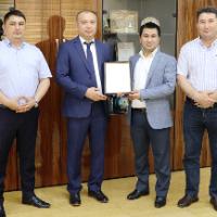 Вручение Сертификата системы менеджмента качества в соответствии с требованиями международного стандарта ISO 9001:2015