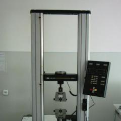 Определение разрывной нагрузки и разрывного удлинения пряжи (INSTRON-4465)