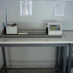 Определение коэффициент крутки пряжи (Elektron Twist Tester)